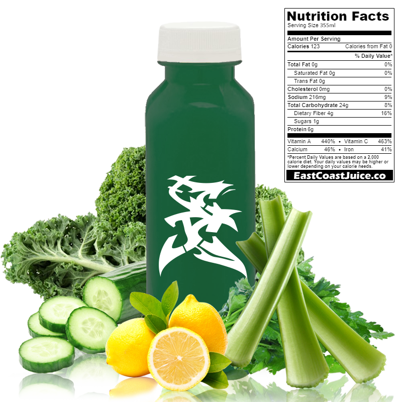 cold pressed Juice, Iron Man, kale, celery, lemon, cucumber, parsley, brassica oleracea, CYP1A2